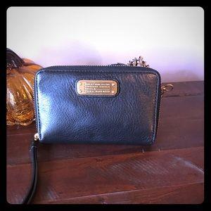 Marc Jacobs Black wristlet/wallet